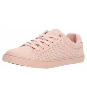 Women's Nautica Baby Pink Suede Shoes